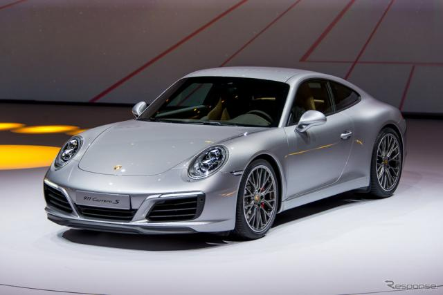 ポルシェ 911 カレラS 改良新型(フランクフルトモーターショー15)《撮影 太宰吉崇》