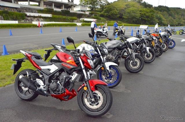 ヤマハ MT-03 / MT-25 メディア向け試乗会《撮影 青木タカオ》