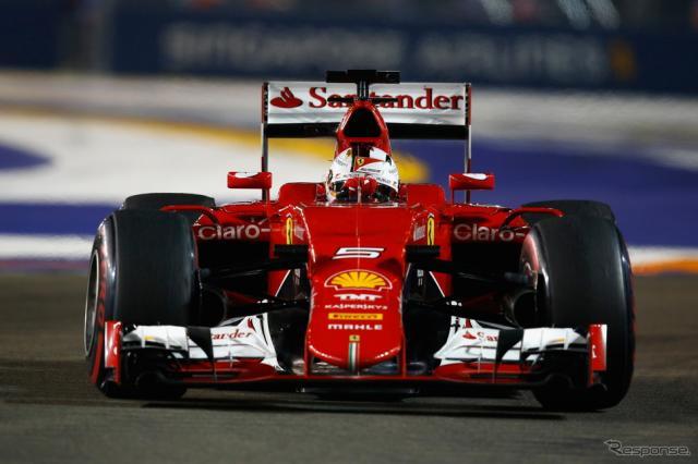 2015 F1 シンガポールGP決勝《画像 Getty Images》