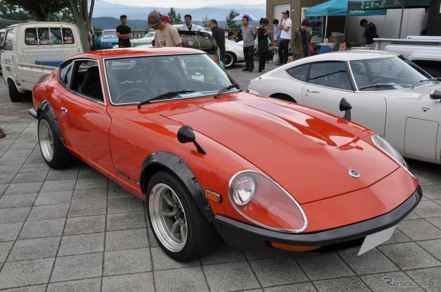 1973年 日産 フェアレディ 240ZG《撮影 嶽宮 三郎》