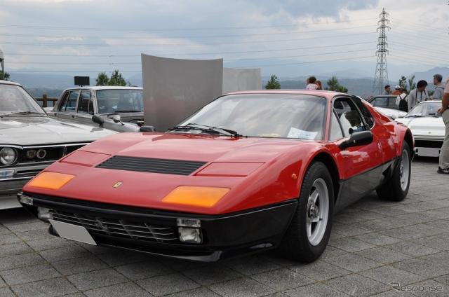 1984年 フェラーリ ベルリネッタボクサー512i《撮影 嶽宮 三郎》