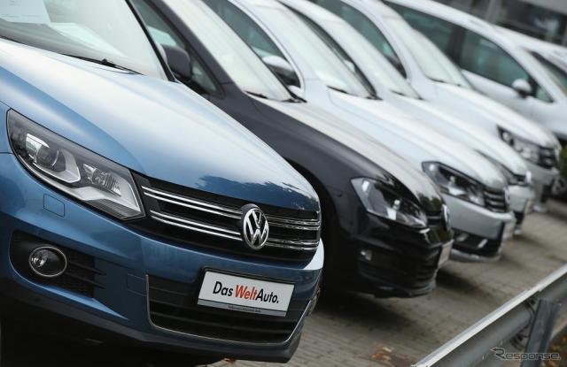 VWグループの一部ディーゼルエンジン車で、排出ガステストを不正にクリアするソフトウェアが搭載されていた《写真 Getty Images》