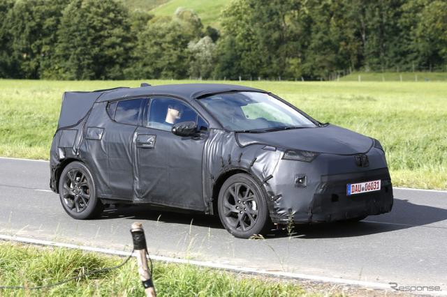 トヨタC-HR 市販モデル スクープ写真《APOLLO NEWS SERVICE》