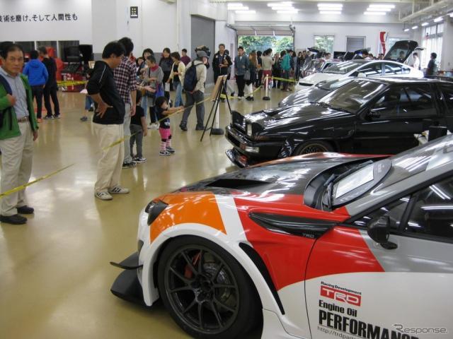 第23回トヨタ東自大学園祭2015 車両展示
