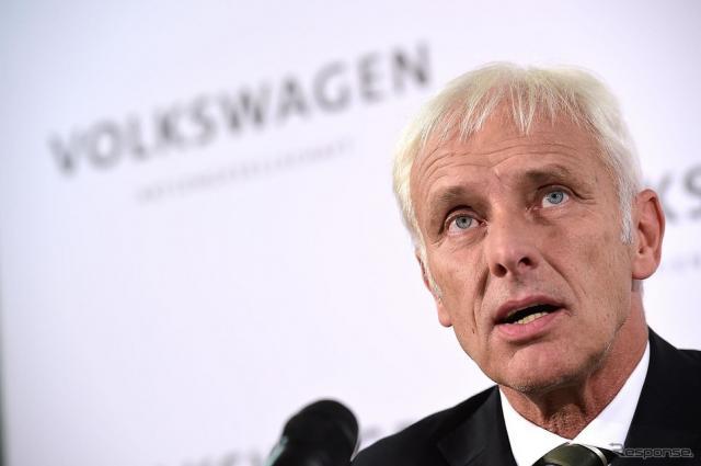 VWグループ マティアス・ミューラー新CEO《写真 Getty Images》
