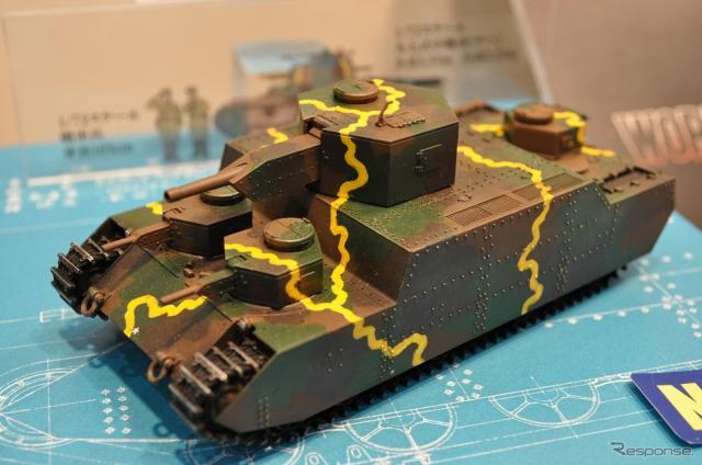 1/72スケールキット『帝国陸軍 150t 超重戦車[オイ]』《撮影 嶽宮 三郎》