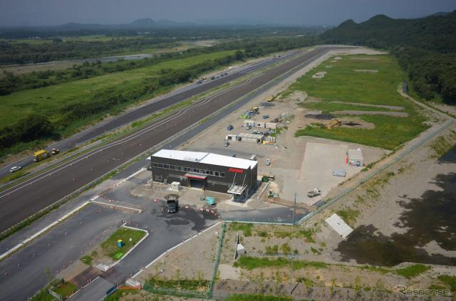 ショーワ栃木開発センター 塩谷プルービンググラウンド。《画像 株式会社ショーワ》