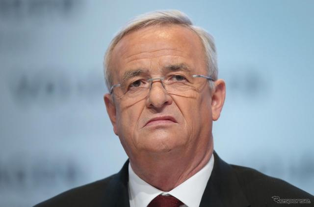 VWのCEOを辞任したマルティン・ヴィンターコルン氏《画像 Getty Images》