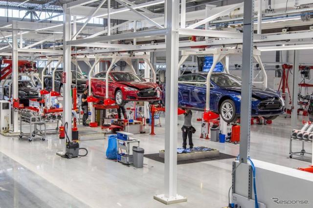 テスラのオランダ新工場