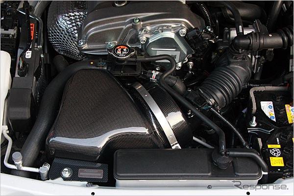 オートエクゼ 新型ロードスター(ND5RC)用ラムエアインテークシステム