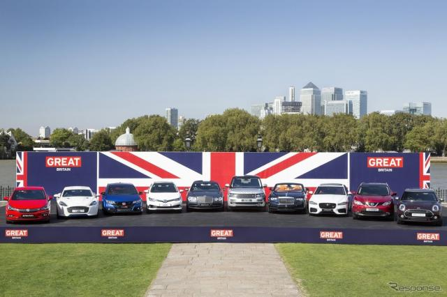 英国自動車メーカー製の主要車両
