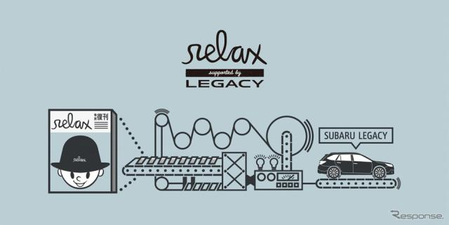relax supported by LEGACY 特別復刊プロジェクト