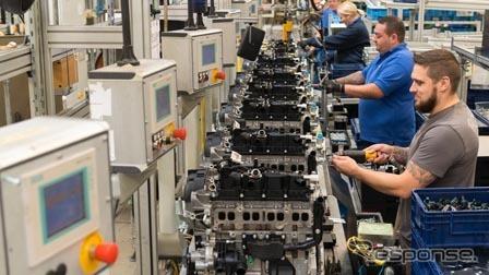 フォードモーターの英国ブリジェンド工場