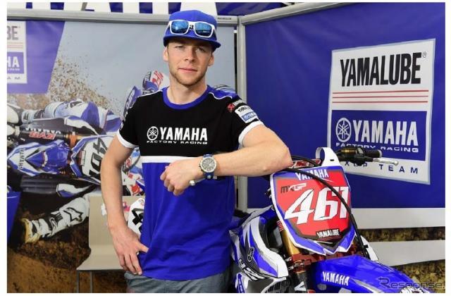 モトクロス世界選手権の最高峰MXGPクラスでチャンピオンを獲得したロマン・フェーブル選手《画像 ヤマハ発動機》