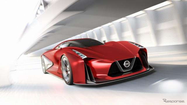 ニッサン コンセプト2020 ビジョン グランツーリスモ《日産自動車提供》