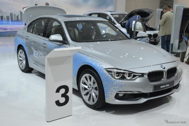 BMW 330e(フランクフルトモーターショー15)