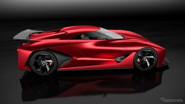 日産コンセプト2020ビジョングランツーリスモ《日産自動車提供》