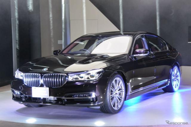 BMW 7シリーズ 新型発表会《撮影 小松哲也》