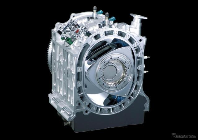 マツダのロータリーエンジン《写真 マツダ》
