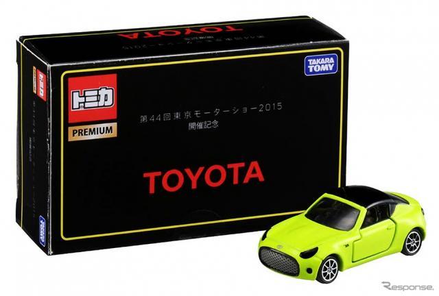 東京モーターショー会場で販売されるトヨタ S-FR トミカ