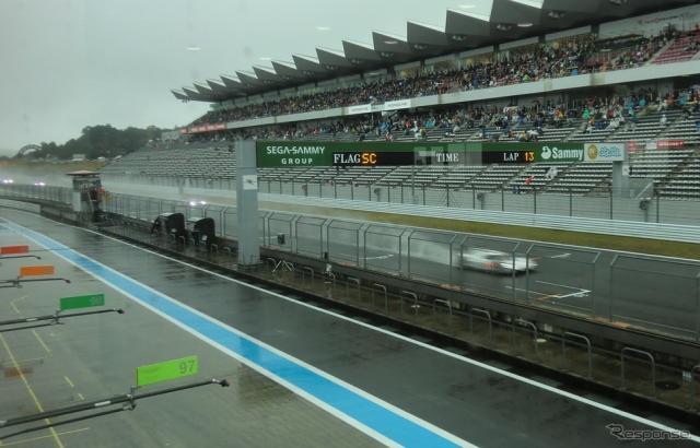 レースはSC先導スタート始まった。《撮影 遠藤俊幸》