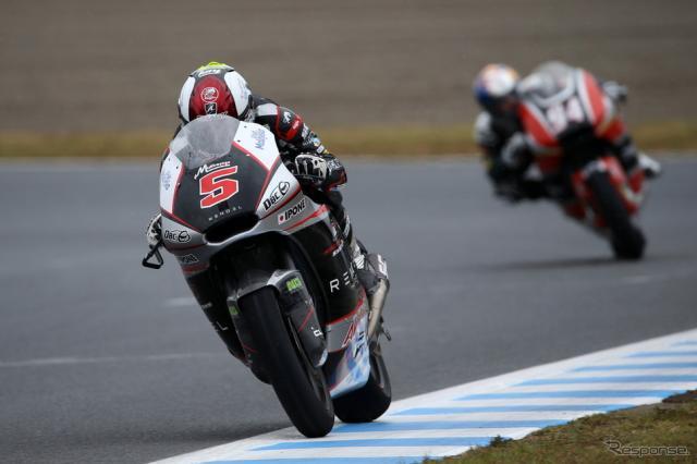 Moto2で優勝を飾ったザルコ《画像 MOBILITYLAND》