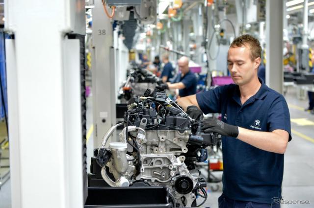 BMWグループの英国ハムスホールエンジン工場
