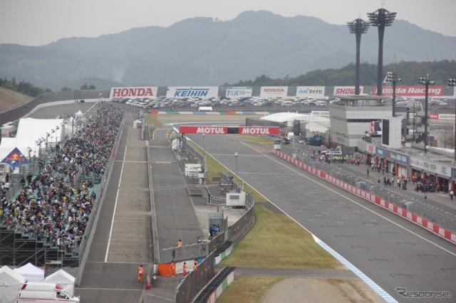 3日間で8万5000人を動員した2015MotoGP日本グランプリ《撮影 吉田知弘》