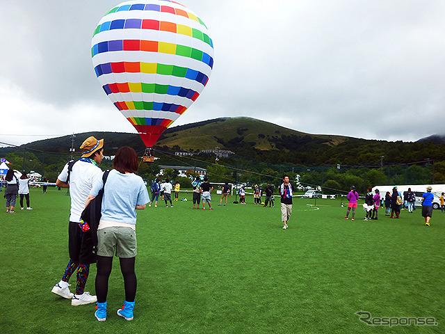 グループや男女に人気だった熱気球もフル稼働《撮影 大野雅人(Gazin Airlines)》