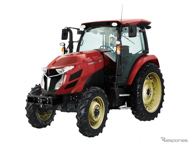 奥山清行氏がデザインしたヤンマーの大型トラクターYTシリーズ