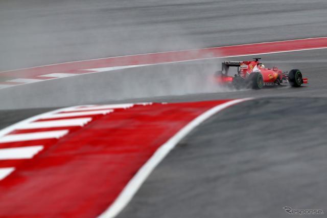 F1アメリカGP フリー走行《画像 Getty Images》