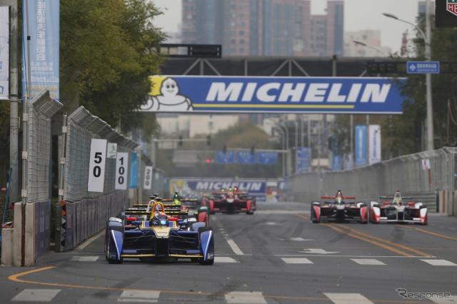 フォーミュラEの15-16シーズンが北京で開幕。写真:Formula E