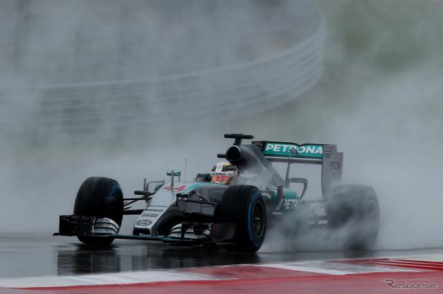 F1アメリカGPは豪雨により予選が順延《画像 Getty Images》