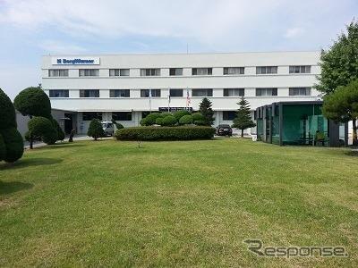 ボルグワーナーの韓国工場(参考画像)