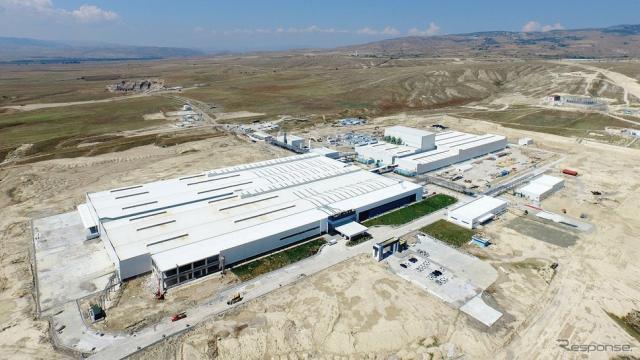 住友ゴム工業グループのトルコ工場《画像 住友ゴム工業》