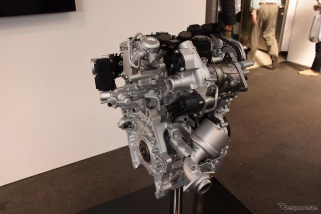 1.0リットル VTEC TURBOエンジン《撮影 関 航介》