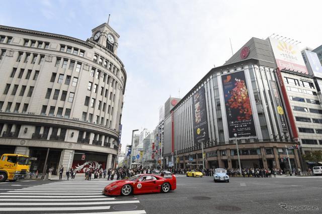 東京モーターショー60周年記念パレード《オフィシャル画像》