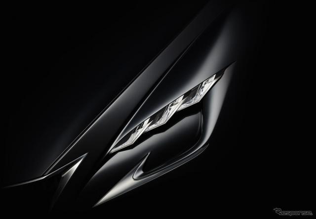 レクサスのコンセプトカーの予告イメージ