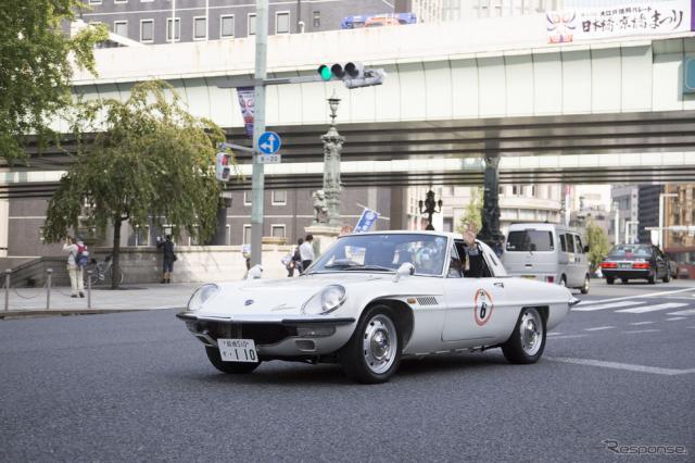【東京モーターショー15】期待高まる、開幕直前の記念パレード…注目モデル目白押し