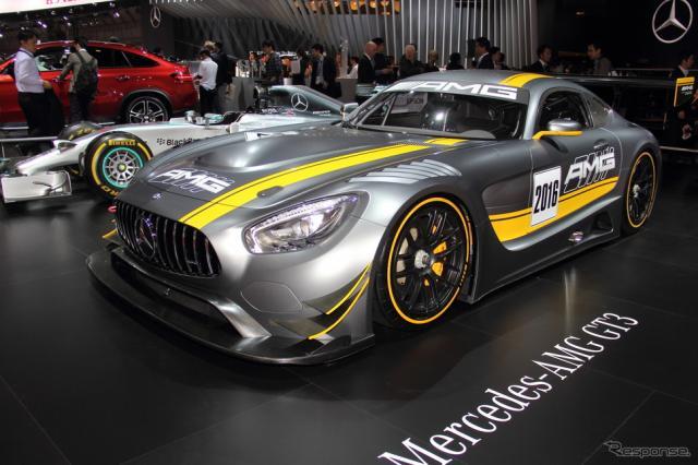 メルセデス AMG GT3(東京モーターショー15)《撮影 吉田 知弘》