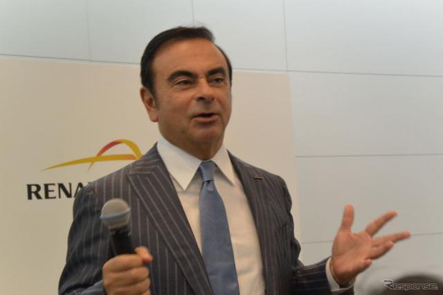 日産自動車 カルロス・ゴーン CEO《撮影 小松哲也》
