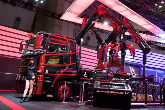 スーパーグレートV スパイダー(東京モーターショー15)《撮影 橋本隆志》
