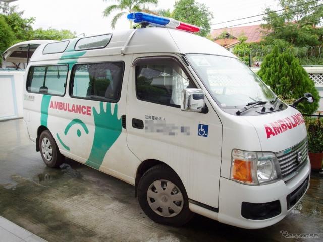 日本財団 中古福祉車両海外寄贈プロジェクト