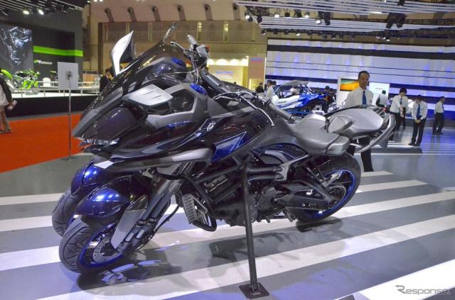 ヤマハコンセプトモデル MWT-9(東京モーターショー15)《撮影 青木タカオ》