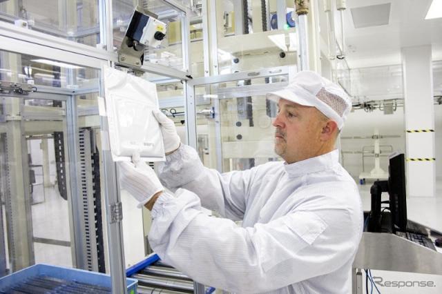 韓国のLG化学の米国ミシガン州ホランド工場