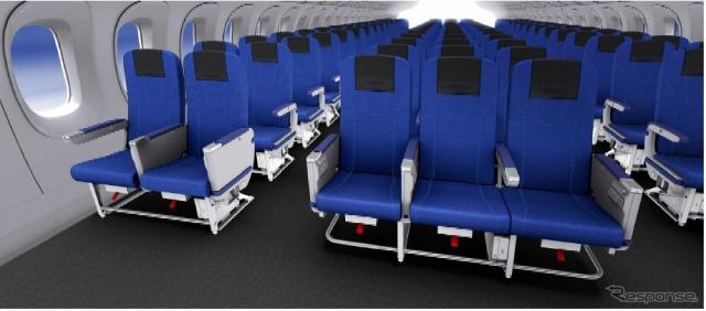 トヨタ紡織が航空機用シートを初めて開発