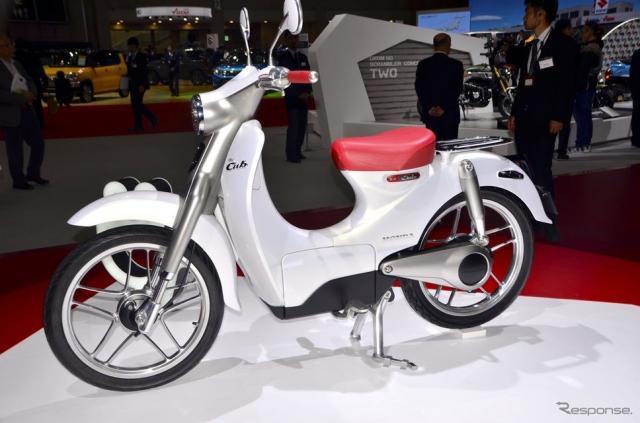 ホンダ EV-Cub Concept(東京モーターショー15)《撮影 青木タカオ》