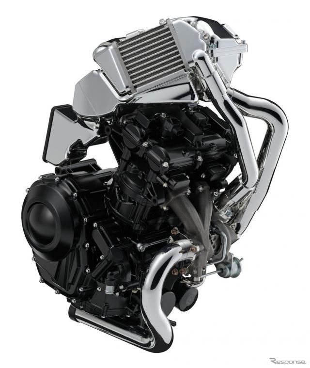 スズキ2輪用ターボエンジン《画像 スズキ》