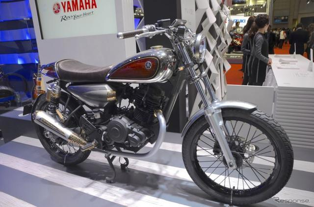 ヤマハResonator125(東京モーターショー15)《撮影 青木タカオ》