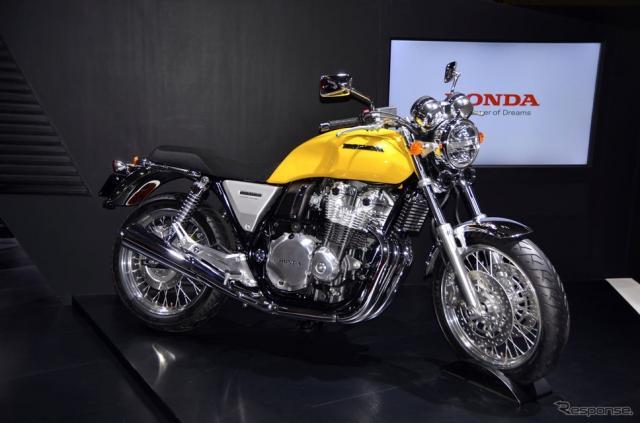 ホンダCB1100コンセプトモデル(東京モーターショー15)《撮影 青木タカオ》